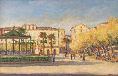 La grande place de Bastia